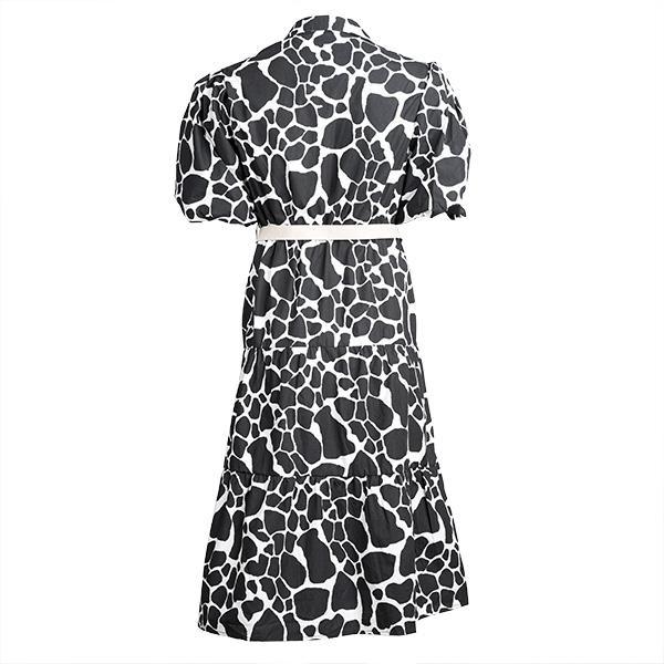 تصویر پیراهن زنانه  طرح چرم گاو برند max مدل CT01CL