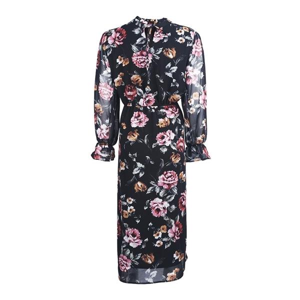 تصویر پیراهن زنانه حریر گلدار برند MAX  مدلFF01P