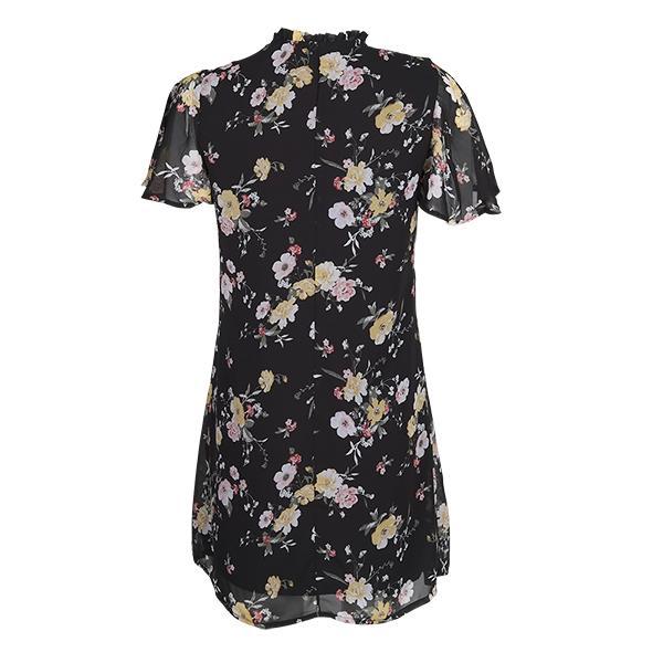 تصویر پیراهن زنانه حریر گلدار برند MAX مدل SU20WDDR260CCT