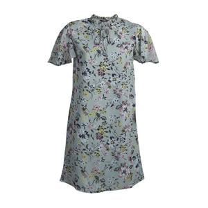 تصویر پیراهن حریر گلدار آستین کوتاه زنانه برند MAX مدل SU20WDDR260DCT