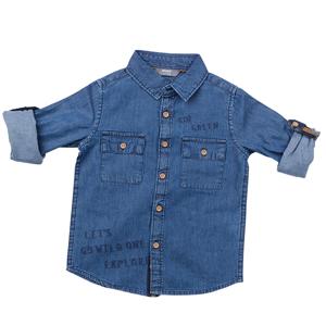 تصویر پیراهن بچگانه پسرانه برند MAX مدل SS21EXP02TB