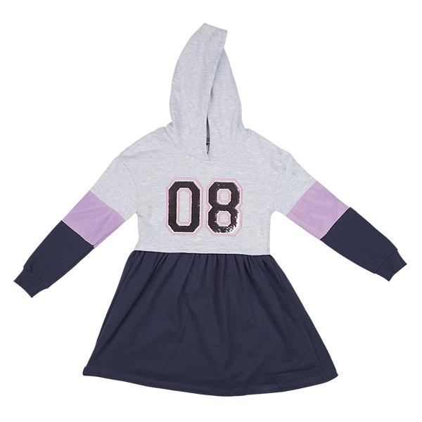 تصویر پیراهن کلاهدار دخترانه برند MAX مدل SS21NRDR09G