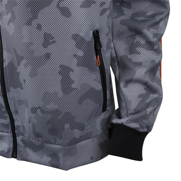 تصویر سویشرت زیپ دار مردانه طرح ارتشی برند MAX مدل A21ATFST01