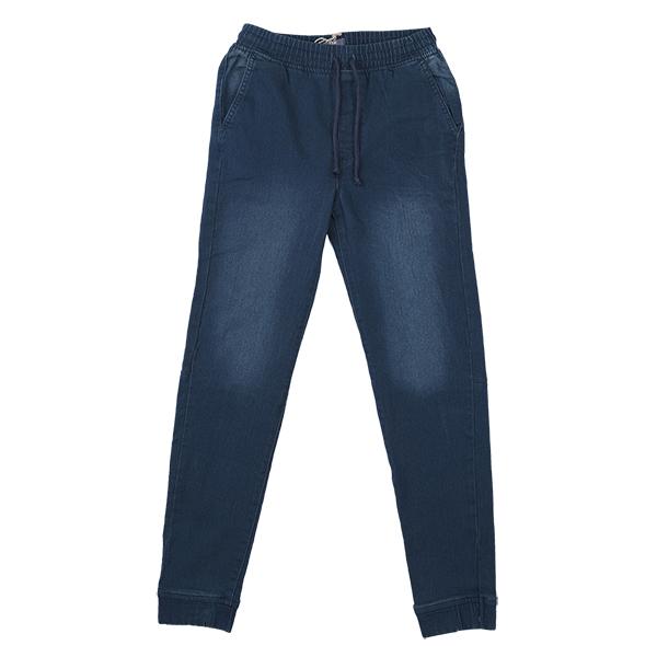 تصویر شلوار جین طرح سنگشور بندی مردانه برند MAX مدل A21DKJ02