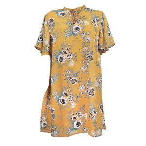تصویر پیراهن زنانه حریر گلدار برند MAX مدل SU20WDDR260BCT