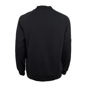 تصویر سویشرت ساده آستین بلند جلو زیپ زنانه-مردانه برند MAX مدل A21YFEST01