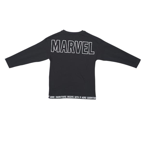 تصویر بلوز طرحدار نخی آستین بلند پسرانه برند MAX مدل W20MRVT15B