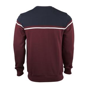 تصویر بلوز نخی دو رنگ آستین بلند مردانه برند MAX مدل A21KASTT01